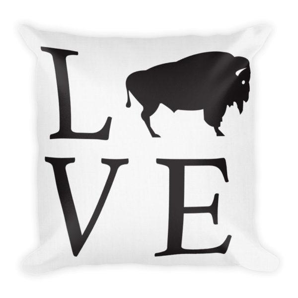 Buffalo NY Buffalove Pillow