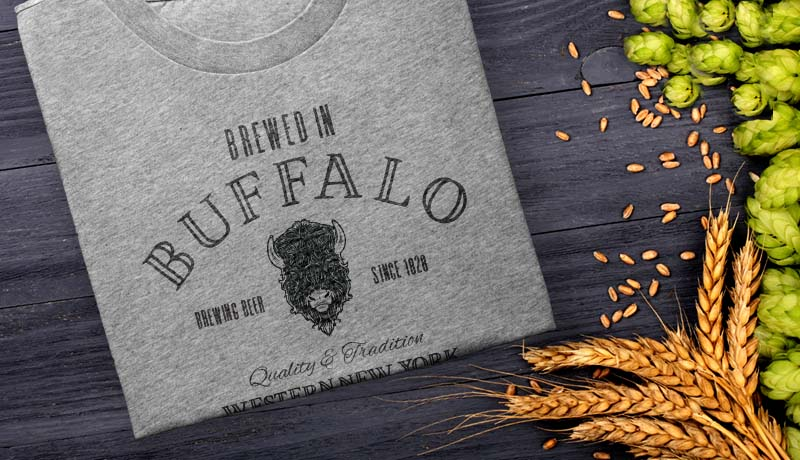 Brewed In Buffalo T-Shirts