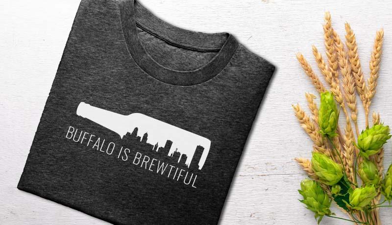 Womens Brewed In Buffalo T Shirts