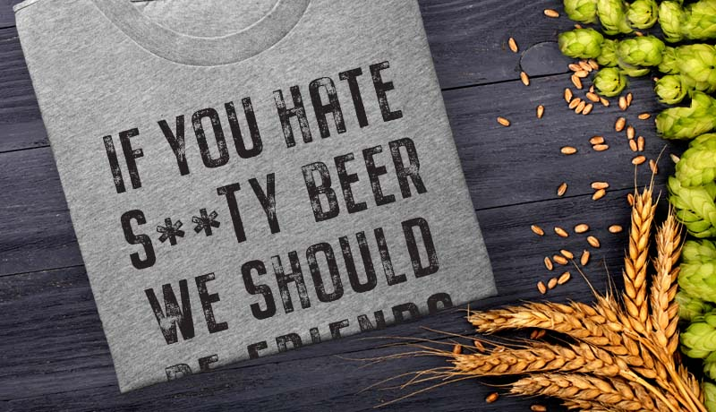 Womens Craft Beer T-Shirts
