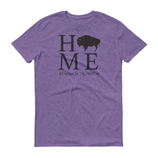 Amherst Latitude and Longitude Home T-Shirt