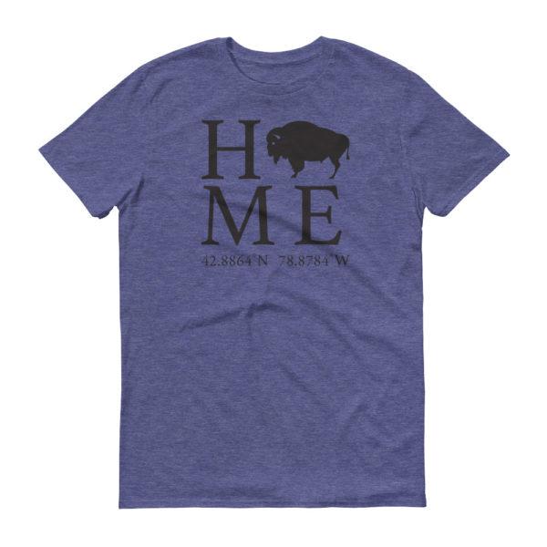 Buffalo Latitude and Longitude Home T-Shirt