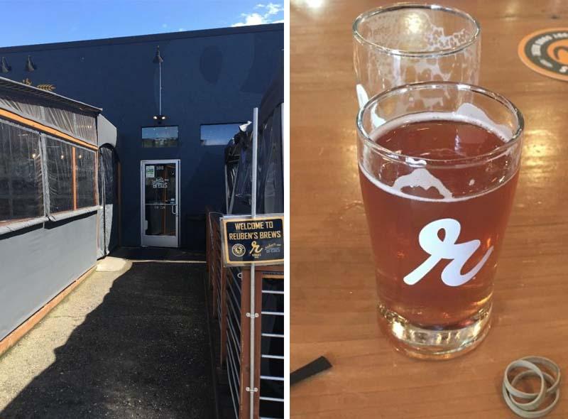 Washington Craft Beer REUBEN'S BREWS